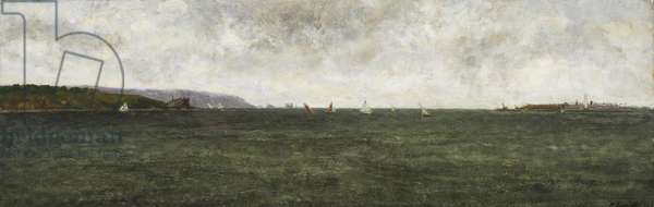 The Needles, 1966 (oil on board)