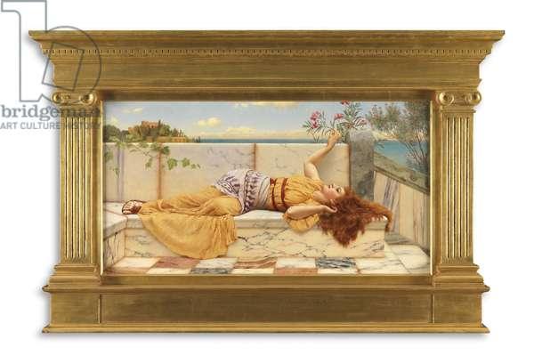 A Happy Awakening, 1903 (oil on canvas)