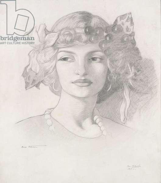 Anne Patterson, 1913 (pencil on paper)