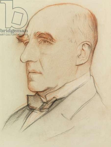 Sir Arthur Pinero, Playwright (coloured chalks)