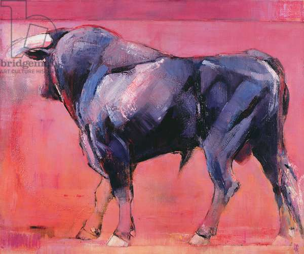 Toro Azul, 1998 (oil on canvas)