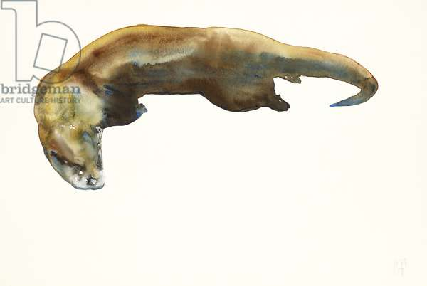 Gold, watercolour on paper (2014)
