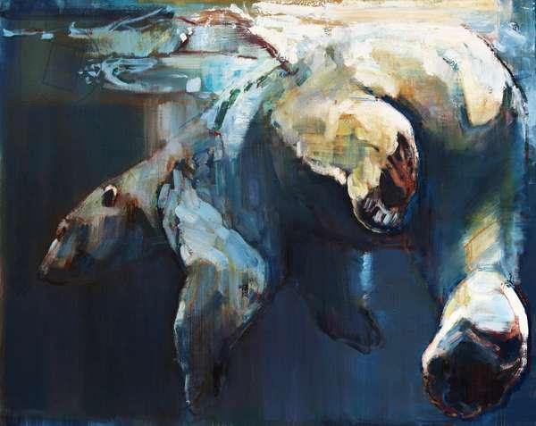 Ice Deep, 2016, (oil on canvas)