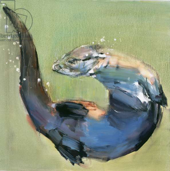 Otter, 2003 (oil on canvas)