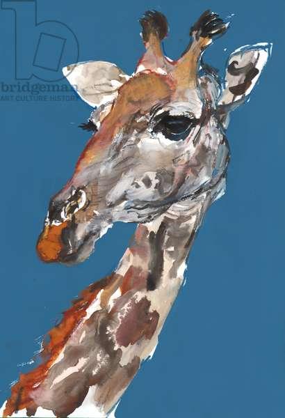 Lady Giraffe, 2018, (mixed media)