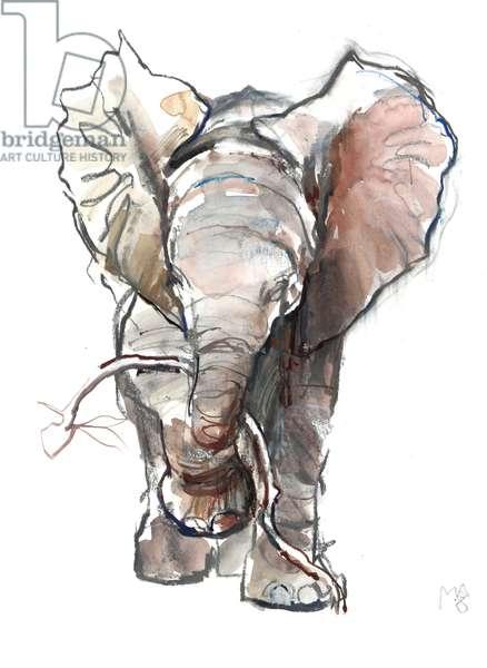 Dumbo, 2018, (mixed media)