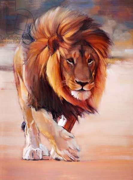 Desert King, 2020, (oil on canvas)