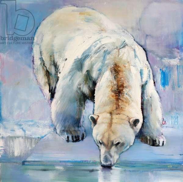 Snow, 2016, (oil on canvas)