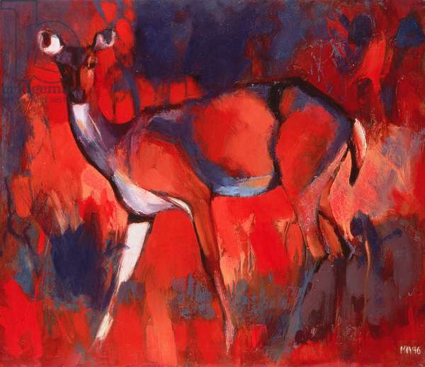 Hind, 1996 (oil on canvas)