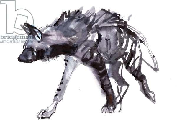 Ragamuffin, 2010, (watercolour on paper)