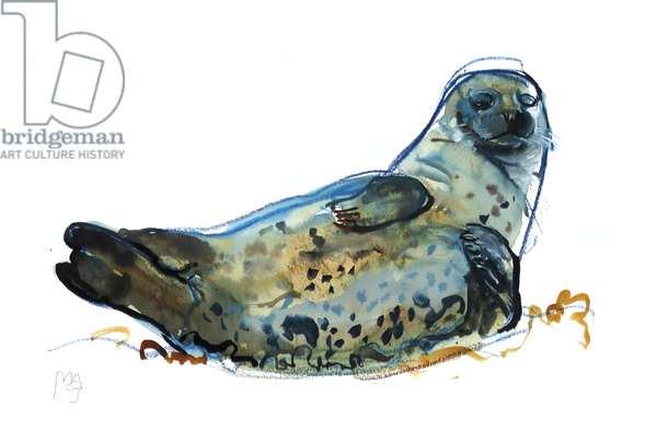 Westcove seal, 2019, (mixed media)