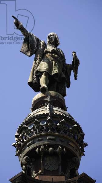 Monument to Christopher Columbus (photo)