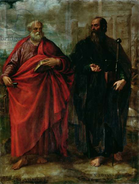 St. Peter and St. Paul, 1577 (oil on canvas)