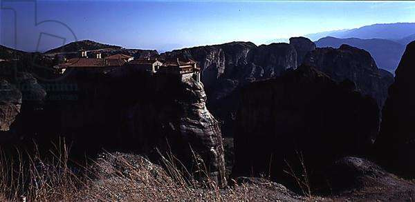 One of the monasteries at Meteora (photo)