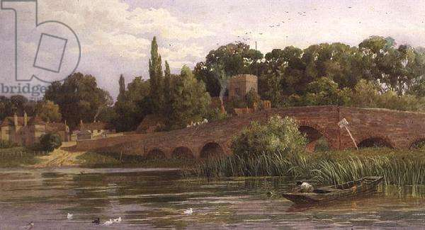 Sonning on the Thames, 1871