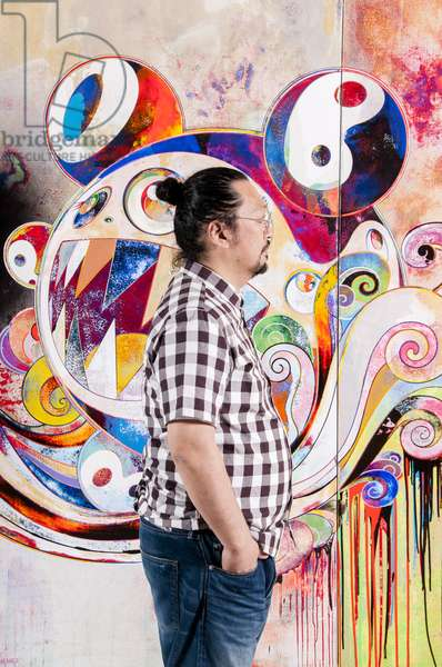 Portrait of the artist Takashi Murakami, 2010 (photo)