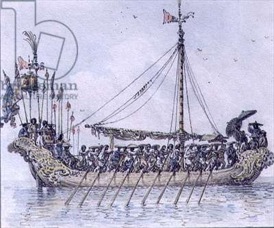 Chinese Galley (w/c)