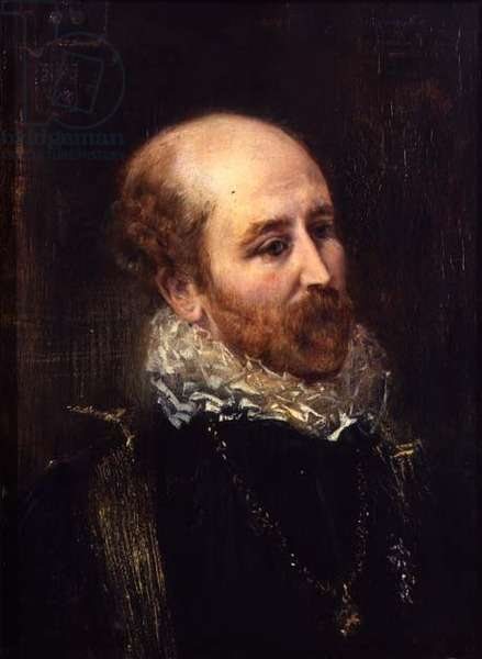Portrait of Henry Francis Makins in Fancy Dress (panel)