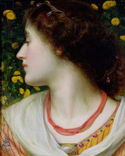 La Belle Isolde, 1862 (panel)