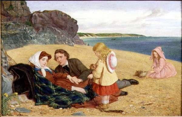 The Convalescent, 1862 (panel)