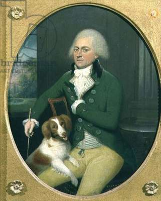 Portrait of a Gentleman with his Dog
