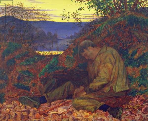 The Stonebreaker (oil on canvas)