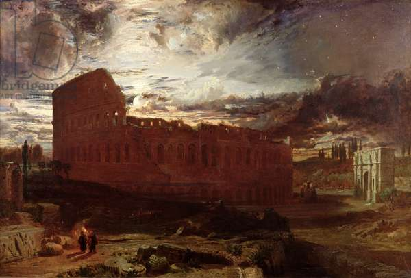 The Colosseum, Rome, 1860 (oil on canvas)