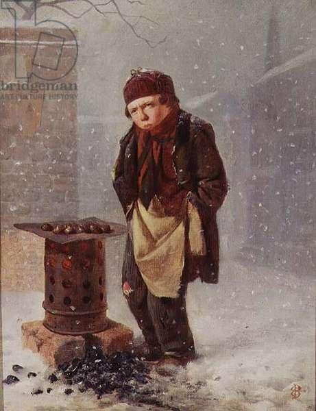 The Chestnut Seller (oil)