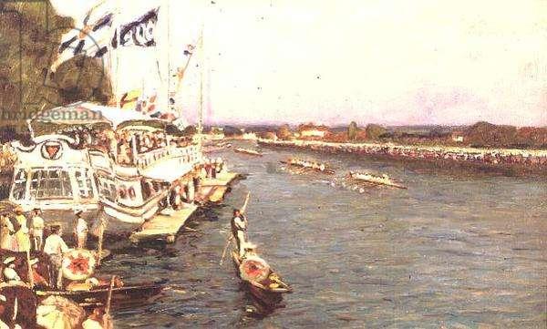 Henley Regatta, 1909 (panel)