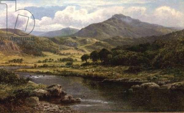 A Highland River Landscape