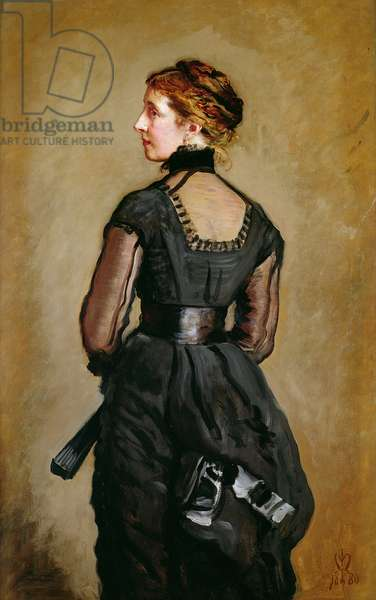 Mrs Perugini, Charles Dickens' second Daughter, 1880 (oil on canvas)