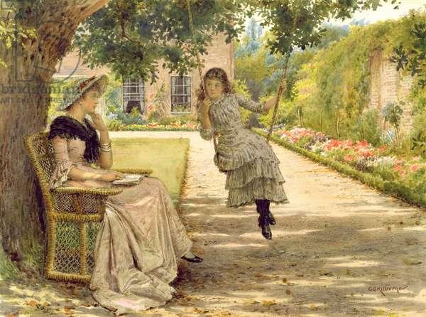 In the Garden (w/c)