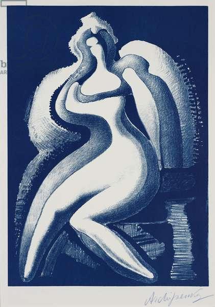 Coquette, 1950 (litho)