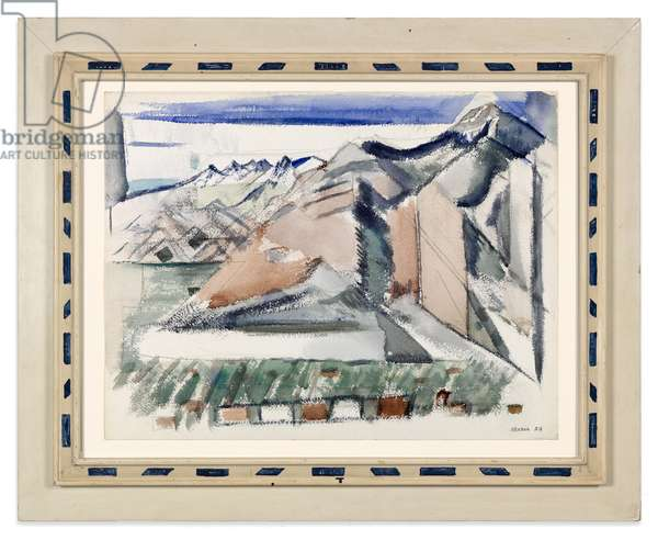 Mountain near Taos, 1929 (w/c over pencil on paper) (see also 713392)