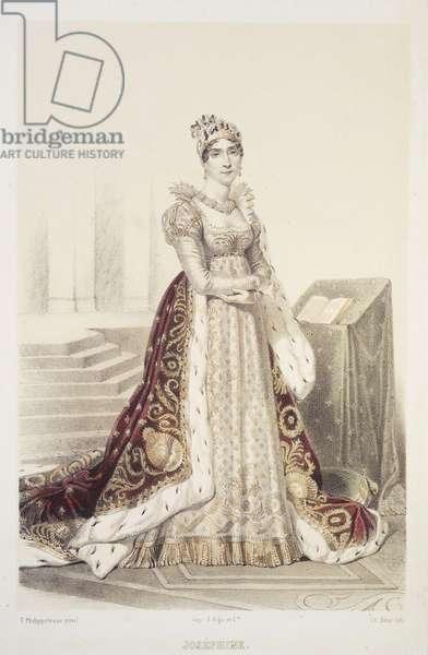 Joséphine (colour litho)