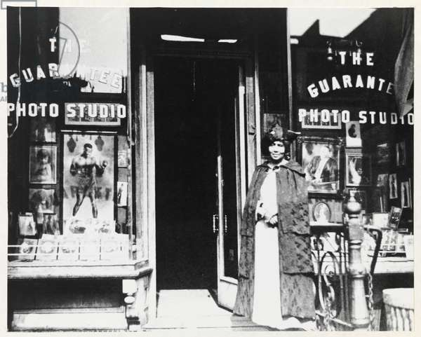First Photography Studio (135th Street), 1917 (photo, mounted on cardboard)