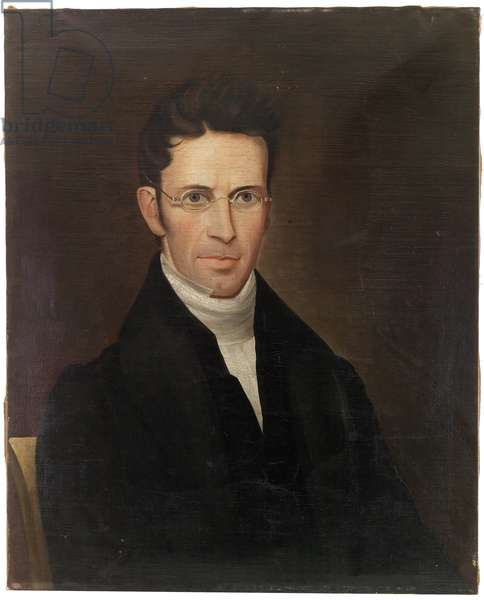 Nathan Welby Fiske (1798-1847), c.1830-1835 (oil on canvas)