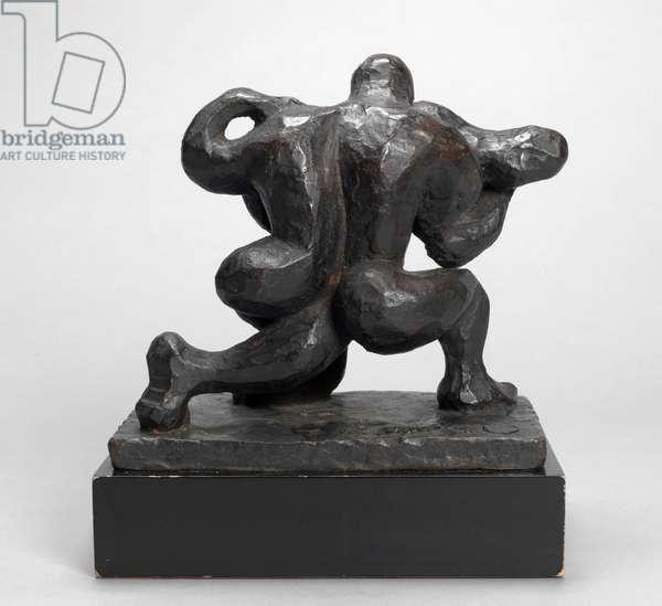 Couple II, 1947 (bronze)