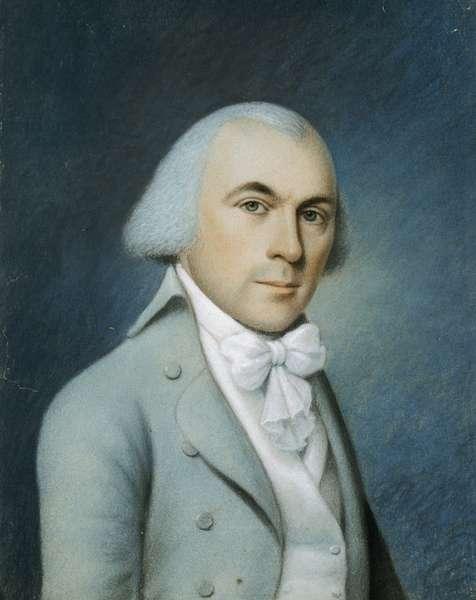 James Madison (pastel on canvas)
