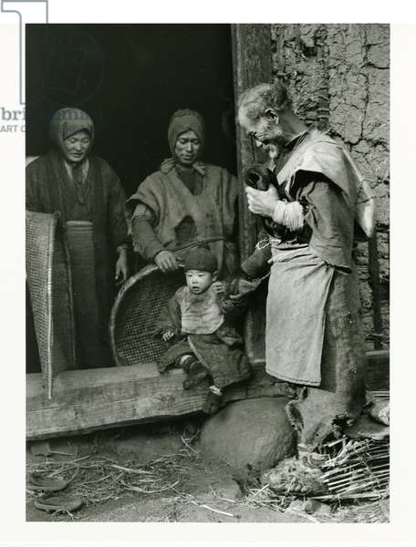 One Poor Family, The Severe Bad Harvest, 1934 (gelatin silver print)