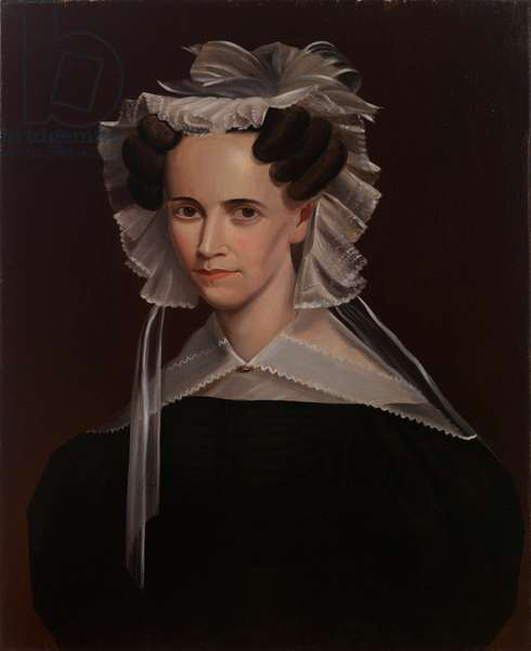 Deborah Vinal Fiske, c.1830-1835 (oil on canvas)