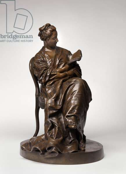 Woman Reading, c.1877 (bronze) (see also 712987)