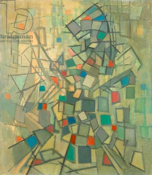 The Hobby Horse, 1955 (oil on canvas)