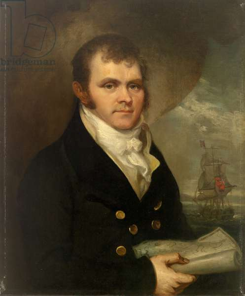 An Officer of the Mercantile Marine, c.1820 (oil on canvas)