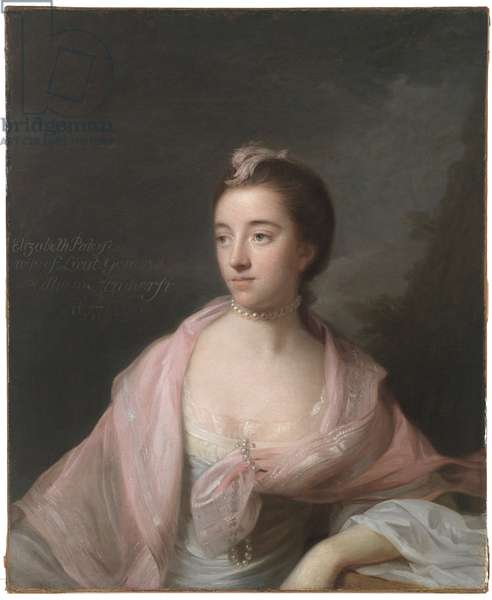 Elizabeth Patterson Amherst (oil on canvas)