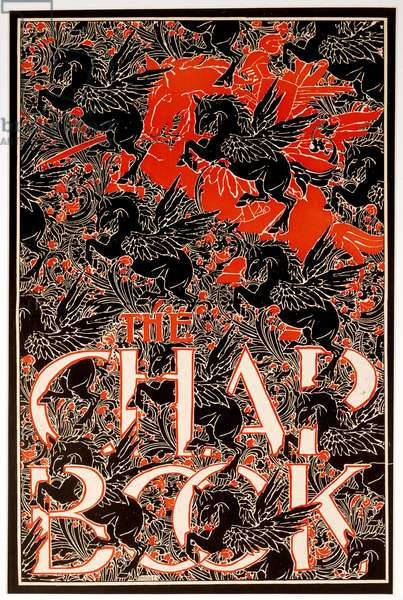 Untitled, from The Chap Book (colour litho)