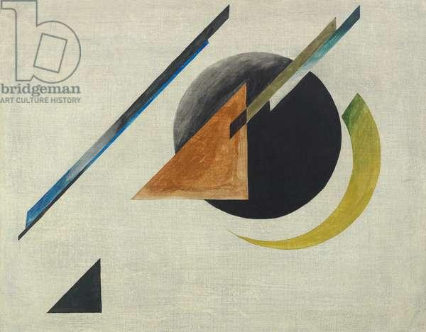 A Suprematist Composition, 20th century (gouache on canvas)