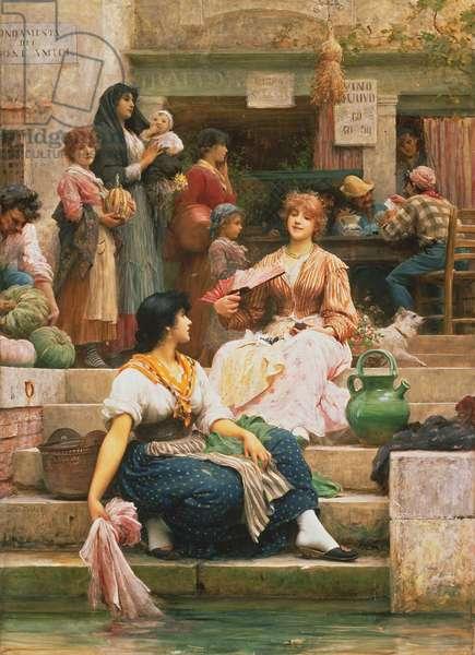 Venetians, 1885 (oil on canvas)