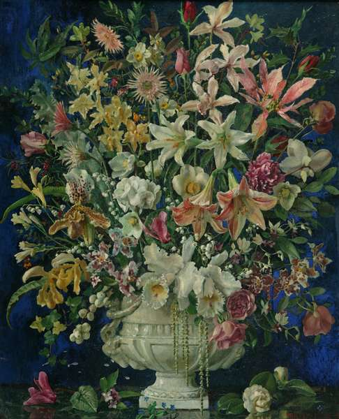 The Hundred Flowers, 1938 (oil on canvas)