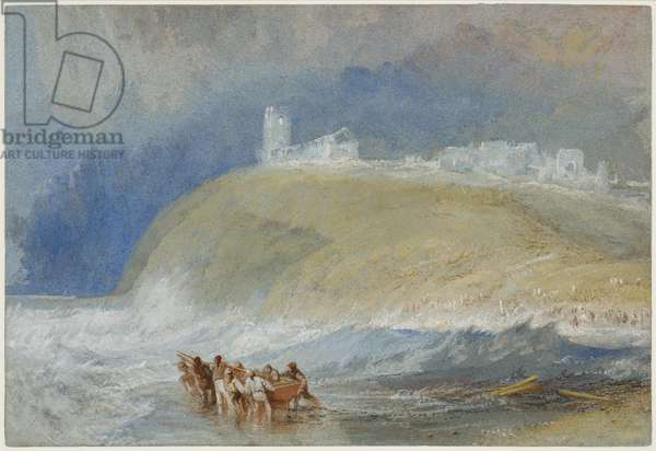 Dunwich, Suffolk, c.1827 (w/c on paper)